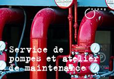 Service de pompes